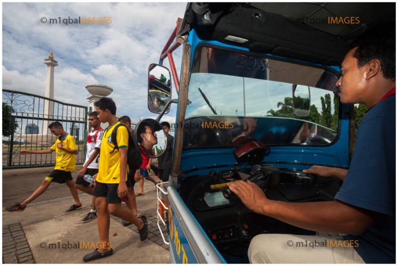 Foto 2 : Papandi dan Monas , Monas - Jakarta